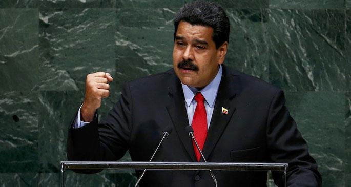 Maduro: Yeni İşgalci İmparatorluk Suriye'yi Bölmek İstiyor