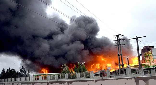 Tunceli Devlet Hastanesi'nde yangın çıktı! 70 hasta tahliye edildi