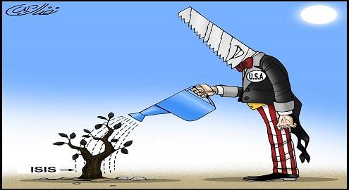 Karikatür – ABD, IŞİD'i elleriyle büyüttü