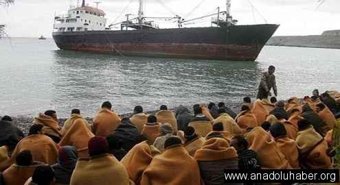 Tekneleri batan 60 Filistinli boğuldu