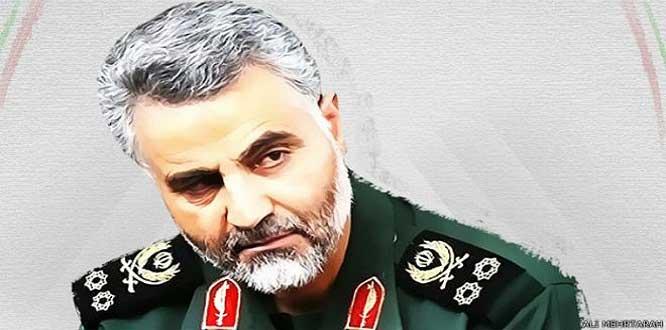 Kasım Süleymani: Filistinli tüm direniş gruplarına her türlü yardıma hazırız