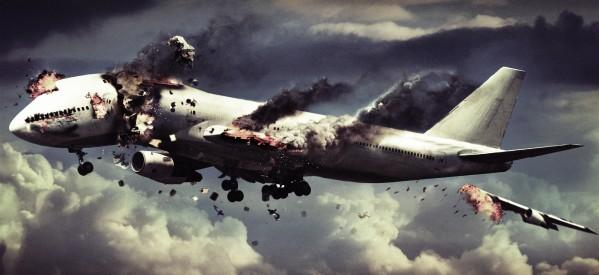 ABD'de yolcu uçağında yangın: 15 yolcu yaralandı