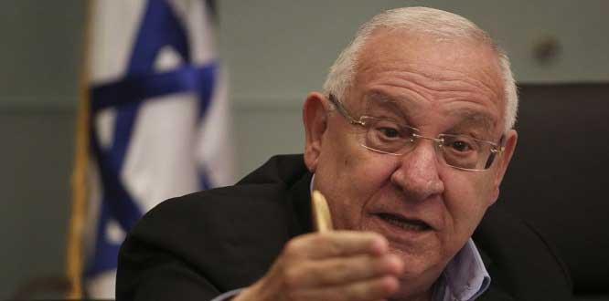 Siyonist rejim ele başı Rivlin, Trump'ı Kudüs'e davet etti