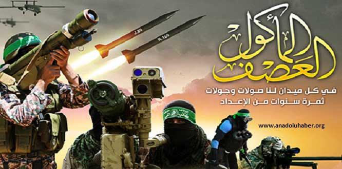 El-Kassam Tugayları'ndan ABD ve İsrail'e: Biz buradayız, siperdeyiz ve savaşa hazırız!