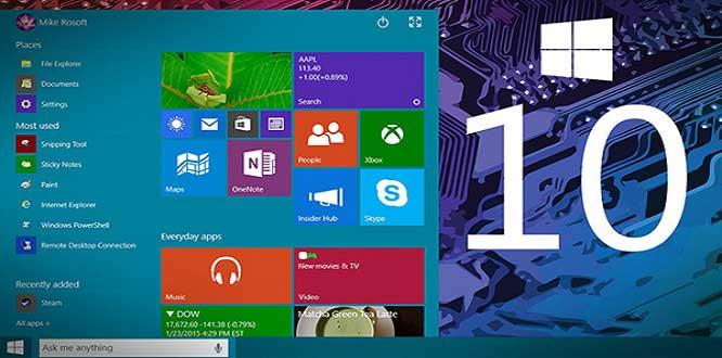 Windows 10'dan sonbahar güncellemesi