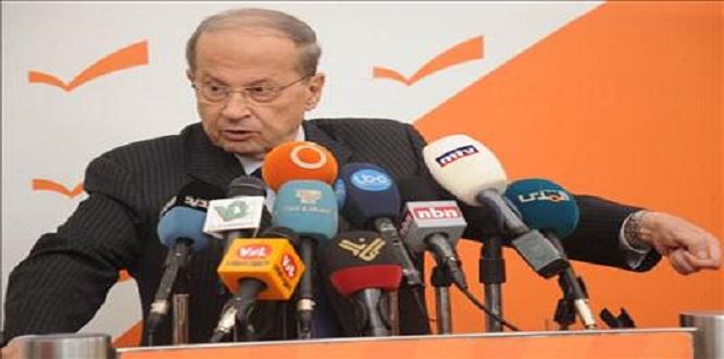 Lübnan cumhurbaşkanı Mişel Aun: Hizbullah Siyonistlerin Saldırısına Karşı En Önemli Güçtür