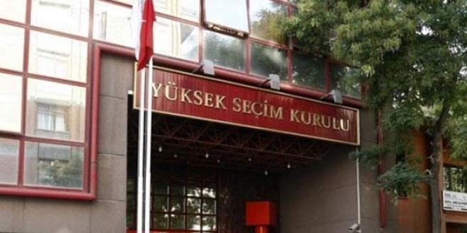 YSK, Kesin Seçim Sonuçlarını Açıkladı