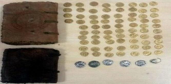 Şanlıurfa'da 2 bin yıllık İncil ile 80 sikke ele geçirildi