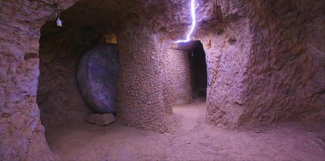 Bayburt'ta 3 bin yıllık yeraltı şehri keşfedildi