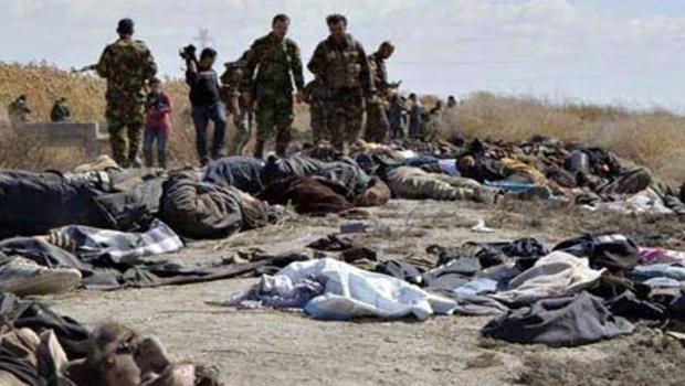 Musul'un batısında 120 DEAŞ teröristi öldürüldü