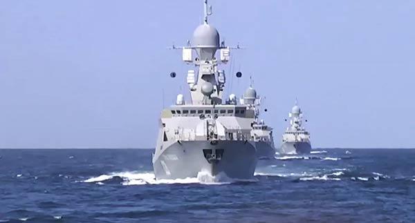 Türkiye ile Katar'dan ortak deniz tatbikatı