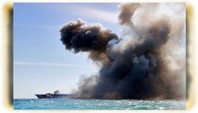 Karadeniz'de Rus savaş gemisiyle kargo gemisi çarpıştı