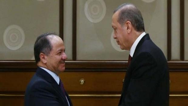 Barzani'den Cumhurbaşkanı Erdoğan'a tebrik