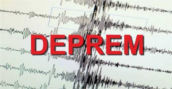 Akdeniz'de 5,2 büyüklüğünde deprem