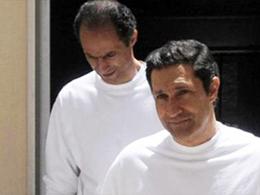 Na-Mübarek'in oğulları serbest kaldı