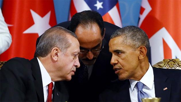 Erdoğan – Obama görüşmesi başladı