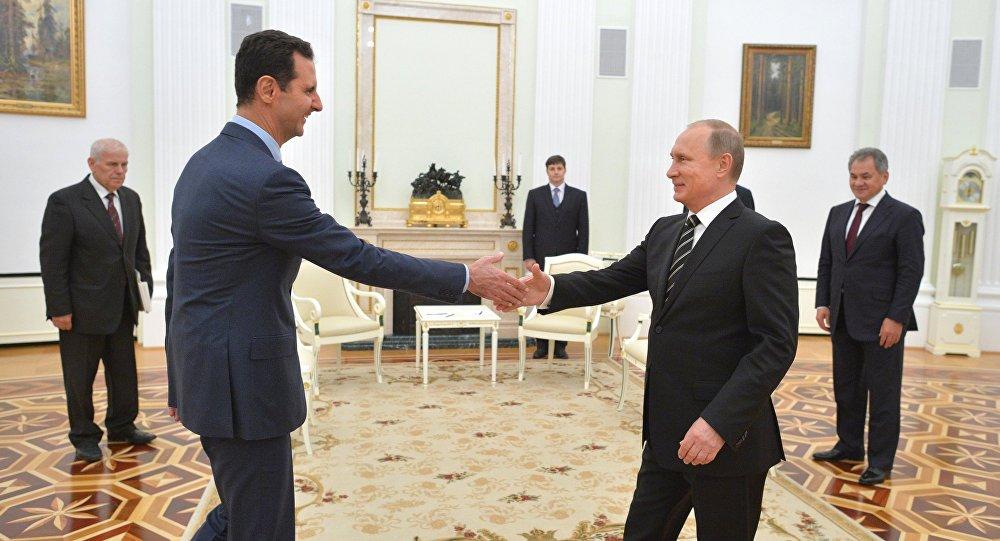 Kremlin Sözcüsü Dmitriy Peskov: Putin, Esad'ın Avukatı Değil, bu yeni bir şey de değil