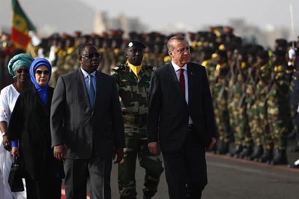 Erdoğan Senegal'e geldi