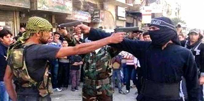 Bitmenin eşiğine gelen terör örgütü IŞİD içinde ihtilaflar büyüyor