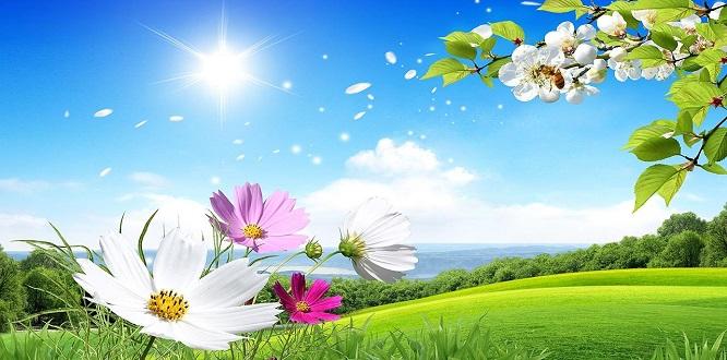 Bahar Bize Ölümden Soraki Ölümsüz Hayatı Hatırlatmalı