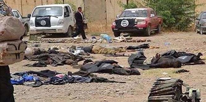 Irak'ta terörle mücadele esnasında en az 75 bin terörist öldürüldü