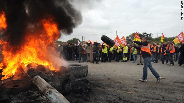 Fransa'da polise karşı protestolar sürüyor