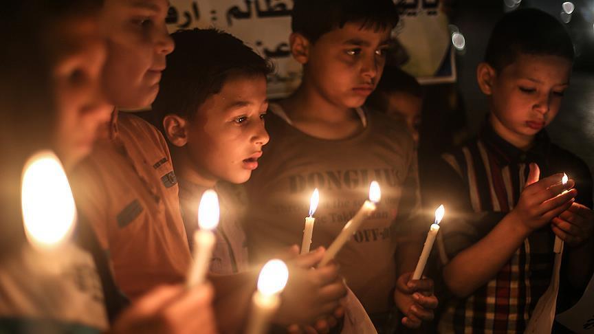 Gazze'deki elektrik krizi felakete dönüşüyor!