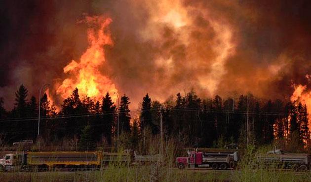 Amerika 4 Aralık'tan beri yanıyor…