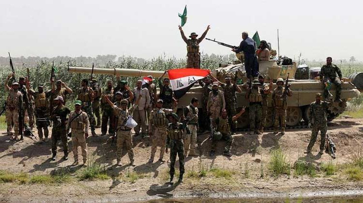Irak'lı birlikler tarihi zafere hazırlanıyor