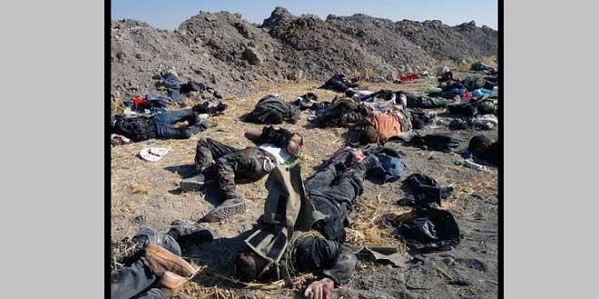 Iraklı güçlerden tekfirci IŞİD'e ağır darbe! 85 terörist öldürüldü
