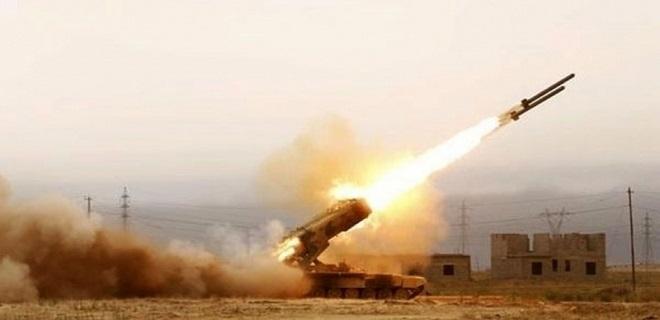 Hamas, Gasıp ve Habis İsrail'i Füzelerle Vurdu