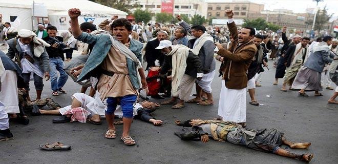 Suudi rejimi Yemen'de yine sivilleri bombaladı! 3 ölü, 2 yaralı