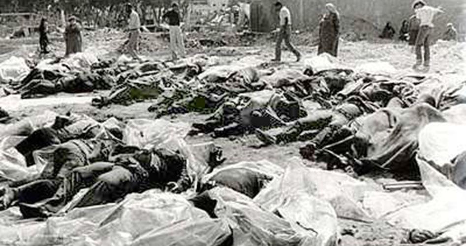 """3 binden fazla Filistinlinin katledildiği """"Sabra ve Şatilla katliamı""""nın 35. yıl dönümü"""