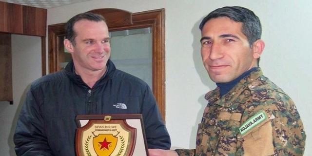 ABD: Suriye'nin bölünmesini ve Kürdistan'nın kurulmasını destekliyoruz