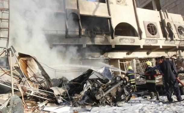 Halep'te Patlama! Ölü ve Yaralılar Var