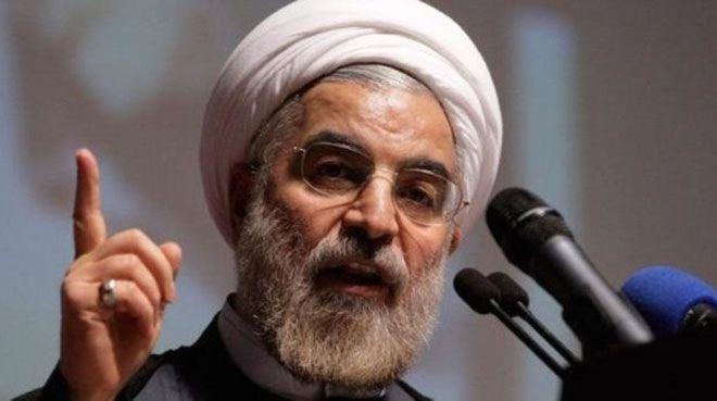 Hasan Ruhani: Trump'ın kararına tahammül gösterilmeyecek
