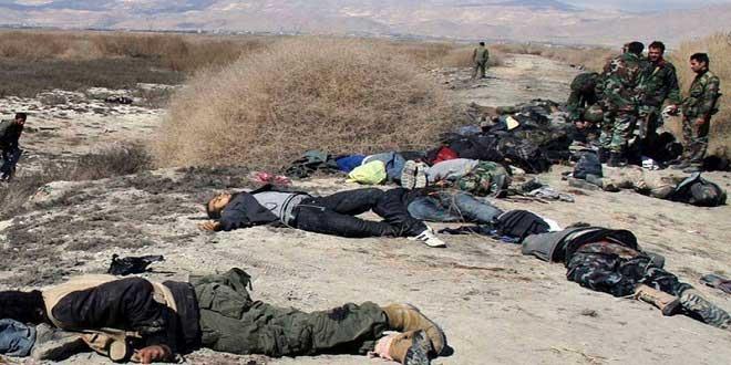 Irak'ın kuzeyinde onlarca IŞID teröristi öldürüldü