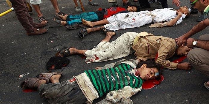 Suudi rejimi Yemen'de sivillere karşı açık bir katliam başlattı