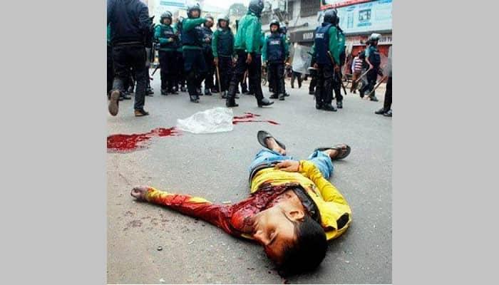 Myanmar ordusunun insanlık dışı cinayetleri kınama