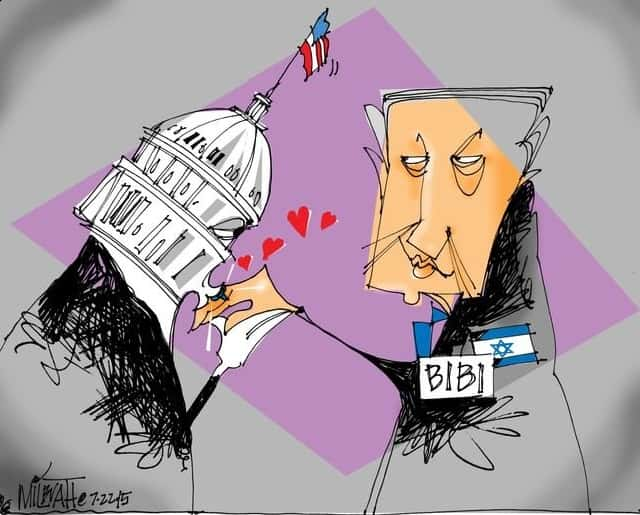 Karikatür – Beyaz Saray ve KATİL israil ilişkisi