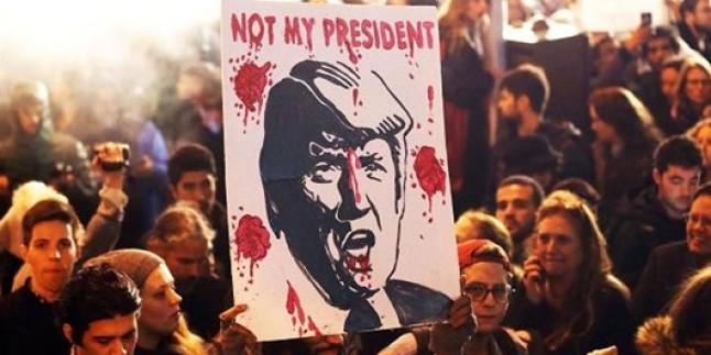 Yapılan son ankete göre Trump, ABD'nin en nefret edilen başkanı oldu
