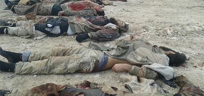 Der'a bölgesinde IŞİD teröristlerine ağır darbe: 117 ölü