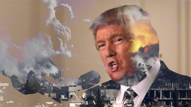 İşgalci ve katil israil, Suriye'yi bombaladığı için Trump'a teşekkür etti