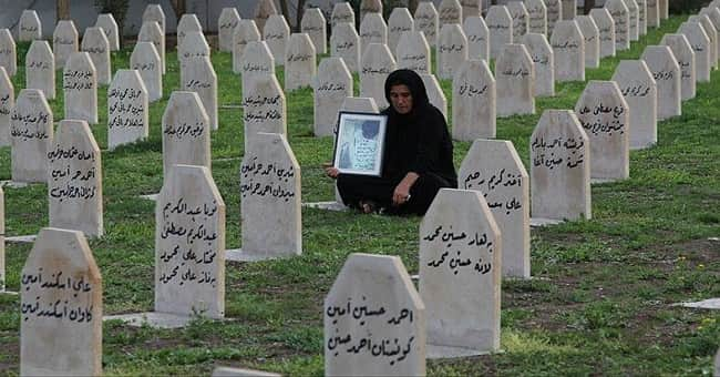 Halepçe'de İran'a Teşekkür: İran'ın destekleri olmasaydı unutulup gidecekti