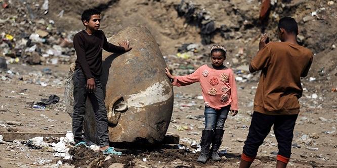 Mısır'da 3 bin yıllık 2. Ramses heykeli bulundu