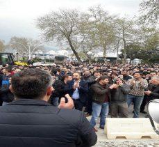 Tüpraş'ta işçiler eyleme devam etti