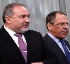 Rusya Dışişleri Bakanı, Gasıp İşgalci İsrail Savaş Bakanı Lieberman ile görüştü