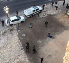 Kudüs'te Meydana Gelen Feda Eyleminde 1 Siyonist Öldü 5'i Yaralandı
