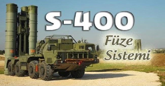 S-400 füzeleri için Türkiye'ye kısmi finansman sağlanacak
