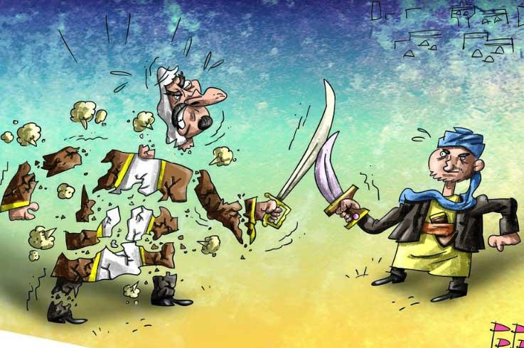 suudi-arabistan-yemen-karikatur
